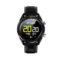 Commerce de gros de haute qualité DT28 Smartwatch IPS écran Ronde Smart Watch Moniteur de fréquence cardiaque détective ECG étanches IP68 de la pression artérielle en oxygène du sang podomètre