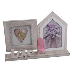 Cadre Photo Custom Wood & Wood Picture Frame