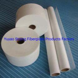 Surface en fibre de verre tissu pour du matériel de composition