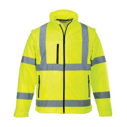 교통 안전을 위한 Hi Viz Work Wear Rain Reflective Multi Reflective 재킷