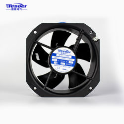 ventilator van de Ventilatie van de Airconditioner van de Ventilator van 225X225X80mm de As ZonneKoel (TXA80S-225Black)