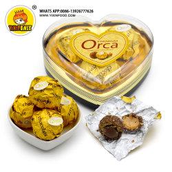 cioccolato zuccherato 3PCS in casella di figura del cuore