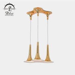 Diseño simple populares de la iluminación interior Cafetería restaurante araña colgante
