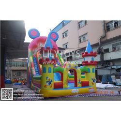 Barato Sport Brinquedos Salto Grande Castelo Slide insufláveis