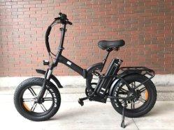 Полное давление в шинах жира подвески складной велосипед с электроприводом 20дюйма 750W жир шины велосипеда с электроприводом