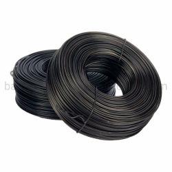 3.5Lb Black Tie fil recuit, cravate noire sur le fil