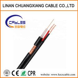 Câble de mixage siamois RG59+2c Câble coaxial Câble de communication pour la caméra du système de surveillance audio