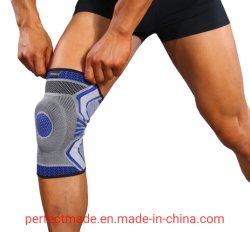 Parentesi graffa di compressione del ginocchio del manicotto del rilievo di ginocchio di sostegno del ginocchio di sport