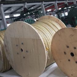 Cubierta de poliéster 12 Strand UHMWPE sintético/Hmpe Marina de nylon para el amarre de la cuerda de remolque de la costa