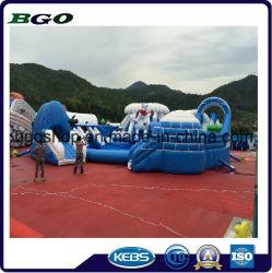 PVC 타포린 팽창식 물 슬라이드(스포츠 게임)