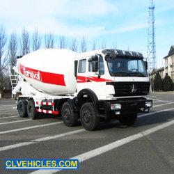 15 Vrachtwagen van de Concrete Mixer van de kubus 8X4 de Op zwaar werk berekende