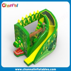 Cheap dinosaure avec toboggan Bouncer gonflable château gonflable
