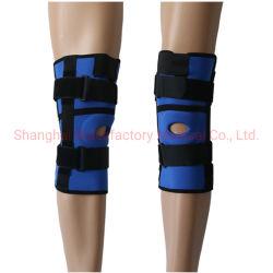 Contributo dello stabilizzatore della parentesi graffa di ginocchio del neoprene a protezione di sport
