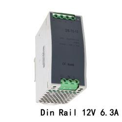 DR-75-12 75W 12VDC 6A DIN 레일 스위칭 전원 공급 장치