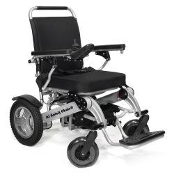 150kg 적재 알루미늄 경량 Fauteuil Roulant Electrique 접이식 전동 전기 휠체어