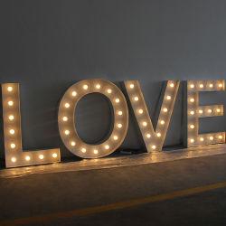 주문 방수 터보 빛에 의하여 직류 전기를 통한 장 LED 큰천막은 편지 빛을 불이 켜진다