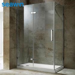 Allegato rettangolare personalizzato dell'acquazzone della baracca dell'acquazzone del bagno della cerniera di Frameless di servizio dell'OEM