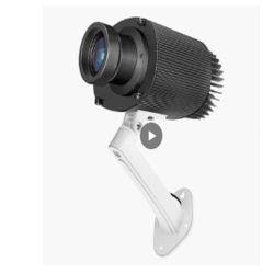 Tür-Projektor des Zoll-LED HD, der Bild-Projektor-Lampe bekanntmachend dreht