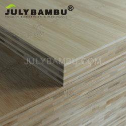 Mobiliario Certificación FSC encimera de bambú 7 capas 35mm 38mm