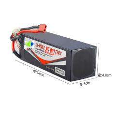 pak van de Batterij van Lipo van de Batterij van het Lithium 14.8V 5.2ah 5200mAh het Ionen Ononderbroken 30c 35c voor Robots RC en Vliegtuig