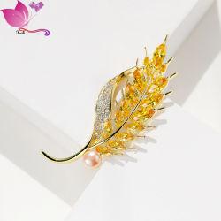 Nuevo Broche Moda Mujer joyas para prendas de vestir de seda Decoraton