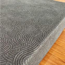 2021 новый дизайн пеньки трикотажные 3D жаккард матрас миной ткань для текстильной продукции