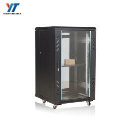 Universal 19 Zoll konzipiert es Rechenzentrum-Zahnstangen-Netz-Server-Schrank mit PDU