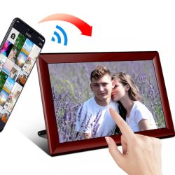 10 LCD van de duim Digitale IPS 1280X800 MP3/MP4 van de Wolk HD van WiFi van het Frame van de Foto Speler
