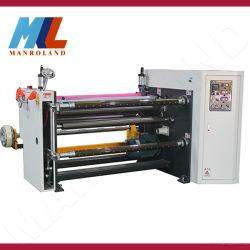 Yt-1300RF e de enrolamento de papel máquina de guilhotinagem,Cortador para película protetora,Película de espuma,,uma película de cobre,folha de alumínio,filme óptica,Igual Rebobinando fita.