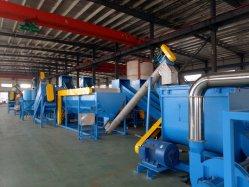Bouteille de déchets en plastique PET paillettes écrasement séchage recyclage ligne de lavage Prix de la machine