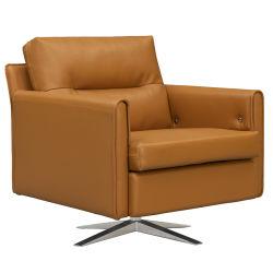 Muebles de salón moderno giro único de cuero Sofá relax Sofá reclinable