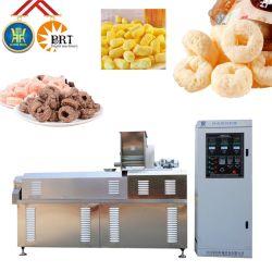 자동 부은 옥수수 치즈 스낵 식품 압출기 장비 지속적인 돌출 MURI Poha - 라이스 생산 라인 머신