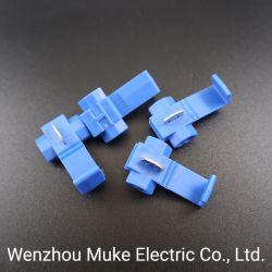ワイヤーコネクター0.75-2.5プラスチック10PCS/Bag青いスコットランドロックの速いスプライスのひだのターミナル堅い柔らかさはワイヤーを保護する