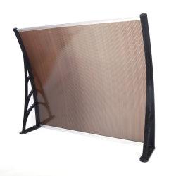 Marquises de policarbonato High-End Vidro da porta moderna toldos