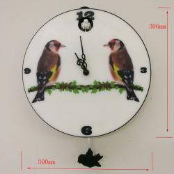 Ronda de 12 pulgadas de péndulo de reloj de pared de cuco