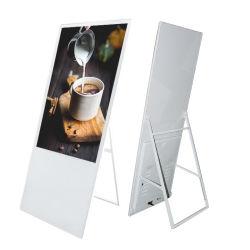 43인치 49인치 55인치 LCD 디지털 메뉴 보드 디스플레이 WiFi 네트워크 LCD 디지털 포스터