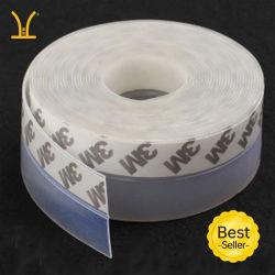 Haut Quanlity Dust-Proof Anti-Mosquito auto-adhésif et porte en bois de silicone de 3 m en bas des bandes de joints d'étanchéité du joint de silicone de gros de produits personnalisés