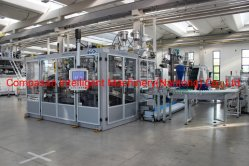 K20d-900 8-20L grosse Flaschen-Blasformen-Maschine, die Wannen-Gerät stapelt