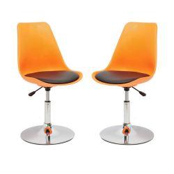 Sedie e Tavoli in plastica moderna sedia in acciaio per ristoranti plastica Sgabello girevole moderno con sedie a sdraio