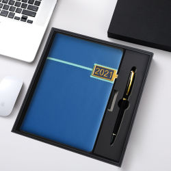 """2022 منتجات قرطاسية جدول أعمال التصميم الجديد للجلد عالي الجودة دفتر ملاحظات يوميات يوميات مكتب الأعمال """"مان"""" بالجملة"""