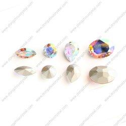 I Rhinestones di cristallo posteriori aguzzi superiori K9 comerciano i fornitori all'ingrosso