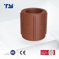 물을%s 중국 고품질 PP 압축 관 이음쇠 플라스틱은 배관공사 정가표 제조자 목욕탕에 상표를 붙인다