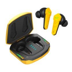 Casque de jeu à faible latence oreillettes Bluetooth Tws écouteurs avec micro Bass Son Audio