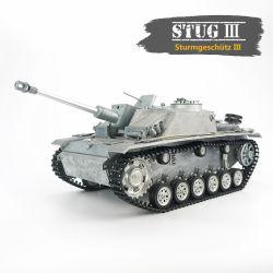 Stug III 2.4G 1: 16 Telecomando de rádio tanque militar brinquedo Tanque Pintado Personalizado