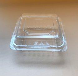 Квадратные высокого качества одноразовой пластиковой продовольственной упаковке ПЭТ фруктов контейнер для Apple