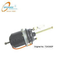 T2424 T24/30 T30/30 Trailer de muelle neumático de piezas de la cámara de freno doble