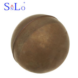 液体レベルスイッチのための銅によって通される浮遊物球