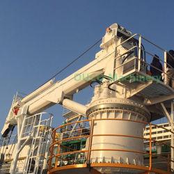 Grúa de pluma telescópica grúa offshore para el servicio