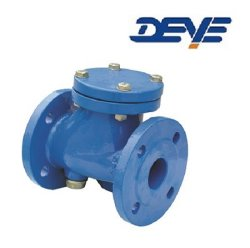 연성이 있는 철 EPDM 물개 볼첵 밸브 벨브