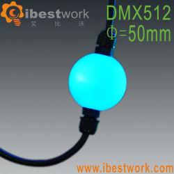 La magia de las luces LED Bola de cristal